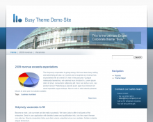 Corporate Theme Web Template Drupal Download