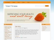 Heath Fitness Theme Drupal Download