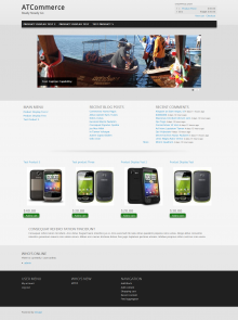 Online Store Drupal Theme Download