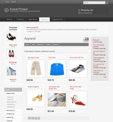 Shopping Cart Drupal Theme Download