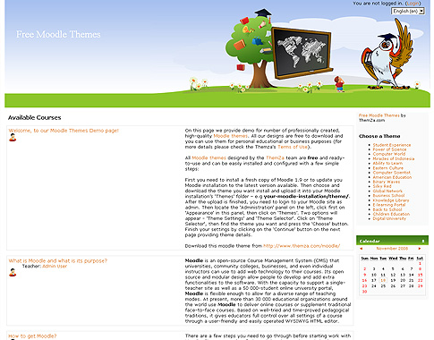 Early Childhood Education Web Template Download