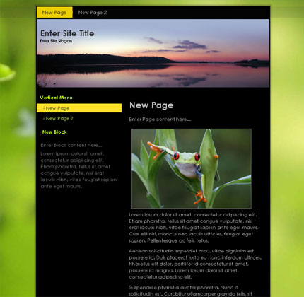 Outdoor Theme for WordPress CMS Download