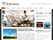 Health & Fitness Website Theme WordPress Format