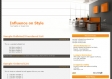 Clean Orange Wordpress Theme WordPress Format