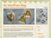 Jewelry Web Template WordPress WordPress Format