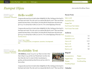 Simple Green WordPress Theme Download